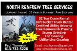 North Renfew Tree Services